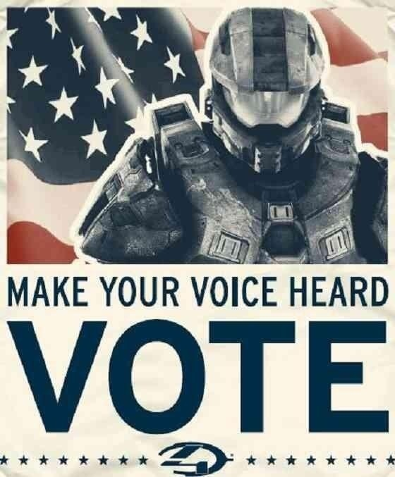 Halo 4 & Election Day